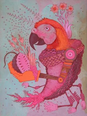 Parrotshrimpflowerbot by Peter Hamlin