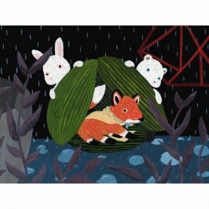 Rainy Day Rescuers by Liten Kanin