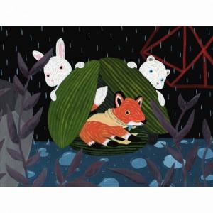 Rainy Day Rescuers by Liten Kanin