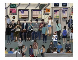 Subway Archival Print by Paige Jiyoung Moon