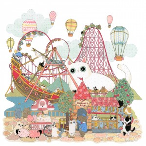 Day of Roller Coaster by Shanghee Shin