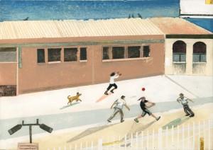 After School Handball by Sally Deng