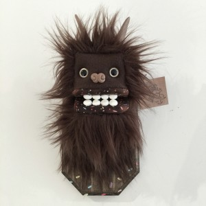 Doughnut Yeti (Small) Brown 4 by Yetis & Friends