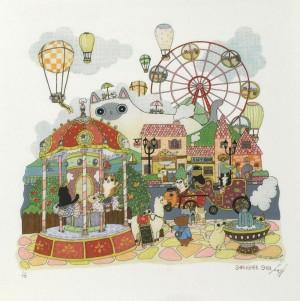 Merry-Go-Round Print by Shanghee Shin