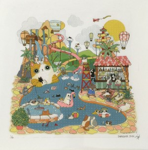 Summer Vacation by Shanghee Shin Print