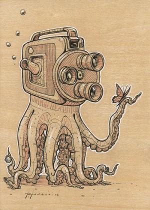 Octopod Study by Roland Tamayo