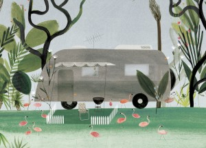 Portable Property, Looking Out by Sarah Jacoby