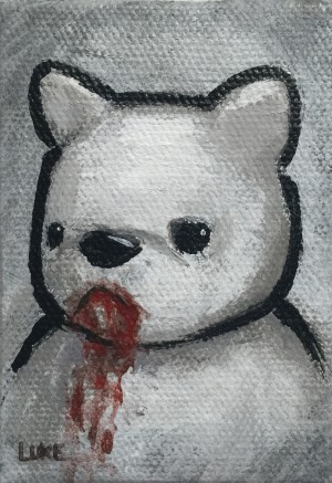 Blood On My Face - Mouth by Luke Chueh