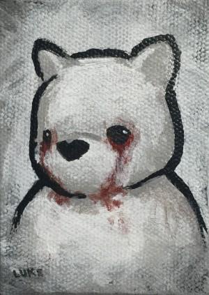 Blood On My Face - Tears by Luke Chueh