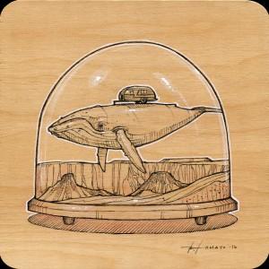 Happy Camper Study by Roland Tamayo
