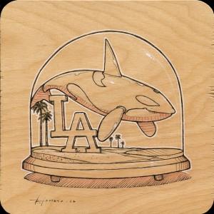 LA Orca Study by Roland Tamayo