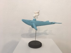 Light Blue Whale by Ruel Pascual