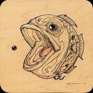 PAC Fish Study by Roland Tamayo