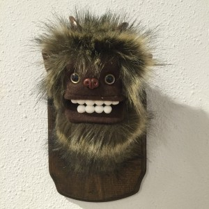 Small Yeti (Dark Brown) 1 by Yetis & Friends