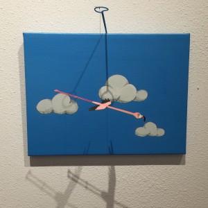 Send A Flamingo Small 2 by Amy Van Gilder