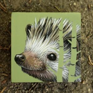 Forest Hedgehog by Lena Sayadian