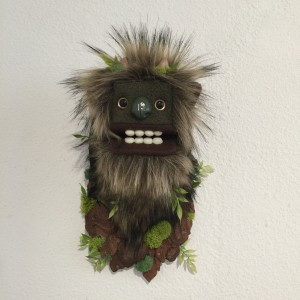 Mini Moss Troll II by Yetis & Friends