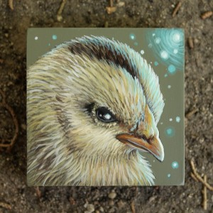 Spirit Chick by Lena Sayadian