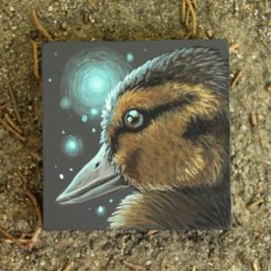 Spirit Duckling by Lena Sayadian