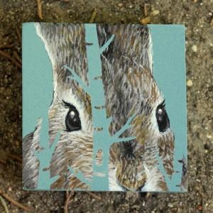 Springtime Bunny by Lena Sayadian