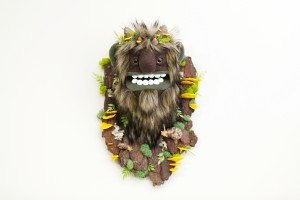 Sulfur Shelf Moss Troll by Yetis and Friends