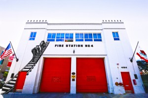 Fire Station No. 4 by Amanda Marsh