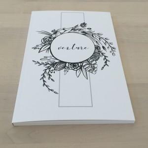 "Art Journal ""Venture"" by Emiko Woods"