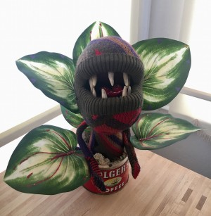 Sweaty Audrey II by Sweaty Taxidermy 001