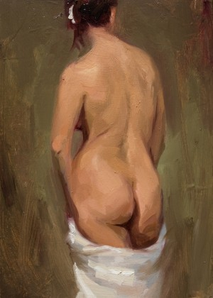 Back Study by Valerie Pobjoy