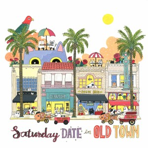 Saturday Date in Old Town by Shanghee Shin Print