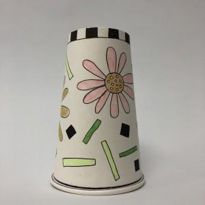 Paper Cup Art by Amy Van Gilder Flower 1