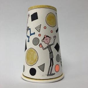 Paper Cup Art by Amy Van Gilder Fun 1