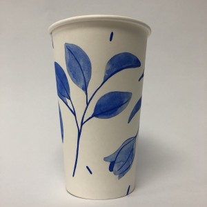 Paper Cup Art by Maggie Chiang Blue 1