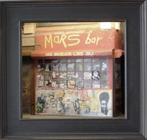 Mars Bar by Randy Hage with Frame