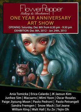 Flower Pepper Gallery One Year Anniversary