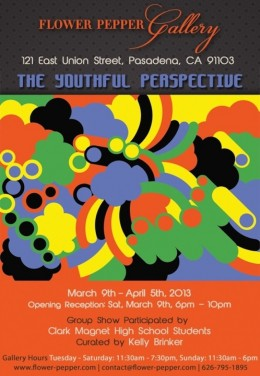 The Youthful Perspective @ Flower Pepper Gallery