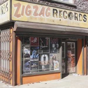 Zigzag Records by Randy Hage
