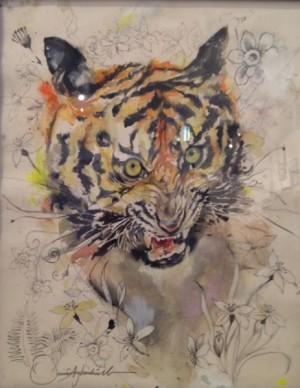 Hidden Tiger by Samir Evol