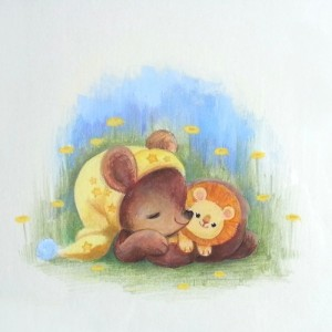 Sleepy Bear by Heather Gross
