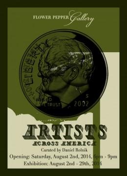 Artists Across America @ Flower Pepper Gallery