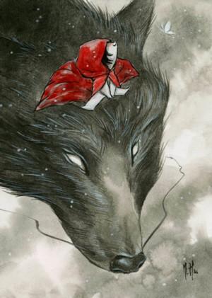 Little Red by Martin Hsu