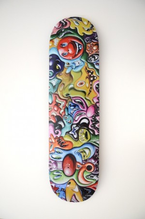 Untitled Bowery Wall Mural by Kenny Scharf