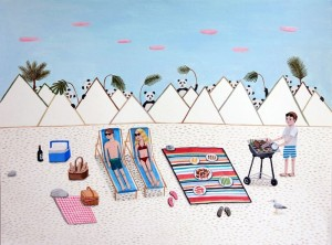 Beach Barbecue by Paige Jiyoung Moon