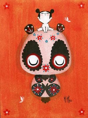 Panda Girl by Martin Hsu