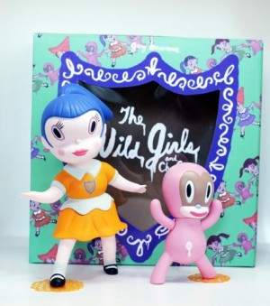 Gary Baseman's Wild Girls Set Beverly Regular Edition