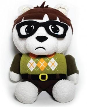 Luke Chueh x Scott Tolleson's Bartholomew Punchyface Plush Bear