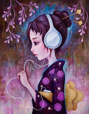 I Wear My Headphones At Night by Jeremiah Ketner