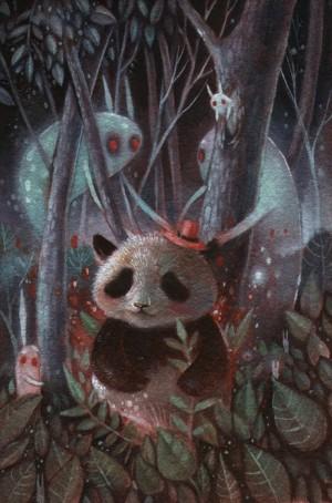 Mr. Panda by Ania Tomicka