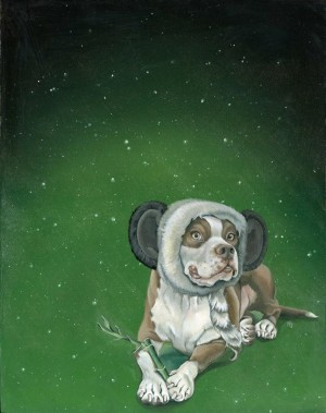Panda Dog by Nicole Bruckman