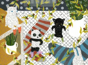 Panda's Sleepover by Tory Lin